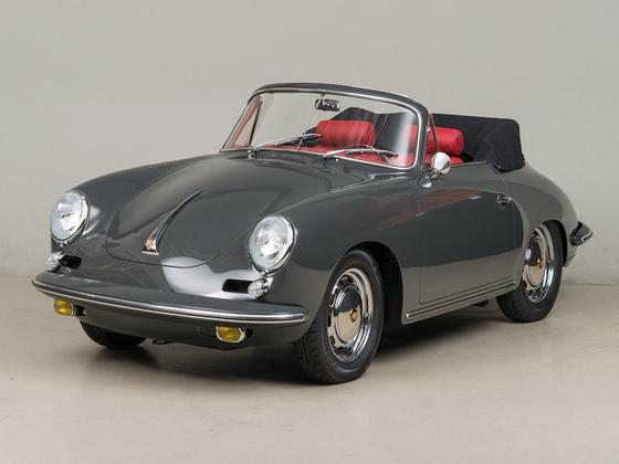 1964 Porsche 356 Carrera 2 Cabriolet:16 car images available