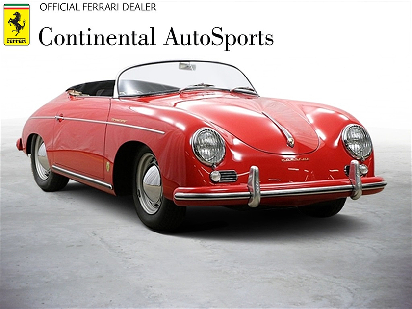 1956 Porsche 356 S Speedster:24 car images available