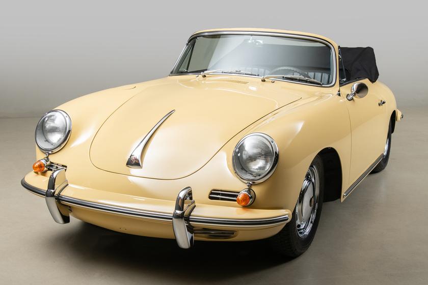 1965 Porsche 356 SC Cabriolet:12 car images available
