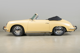1965 Porsche 356 SC Cabriolet