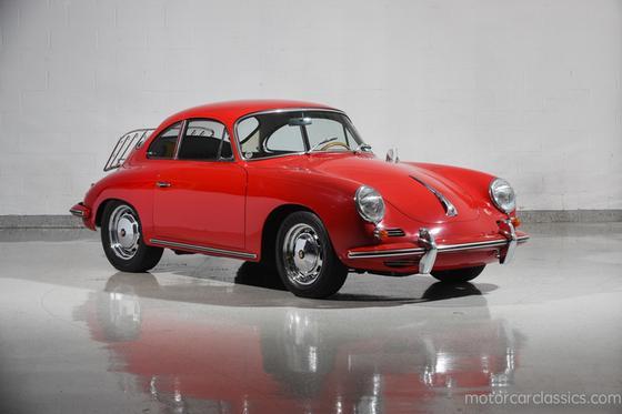 1965 Porsche 356 SC:24 car images available