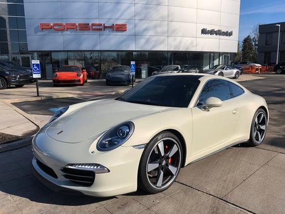 2014 Porsche 911 50th Anniversary Edition:20 car images available