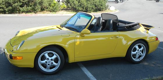 1998 Porsche 911 Carrera 4 Cabriolet:6 car images available
