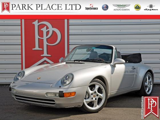 1997 Porsche 911 Carrera 4 Cabriolet:24 car images available