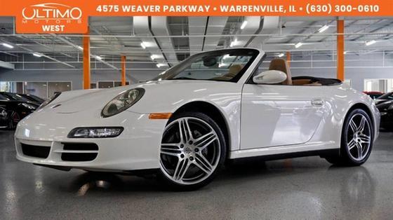 2008 Porsche 911 Carrera 4 Cabriolet:24 car images available