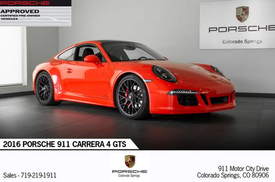 2016 Porsche 911 Carrera 4 GTS:24 car images available