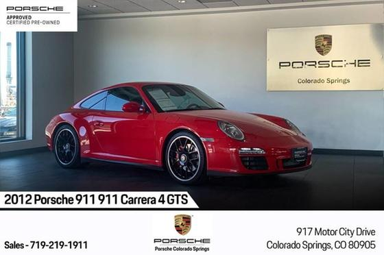 2012 Porsche 911 Carrera 4 GTS:24 car images available