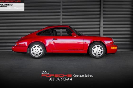 1991 Porsche 911 Carrera 4:24 car images available