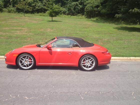 2010 Porsche 911 Carrera 4S Cabriolet:14 car images available