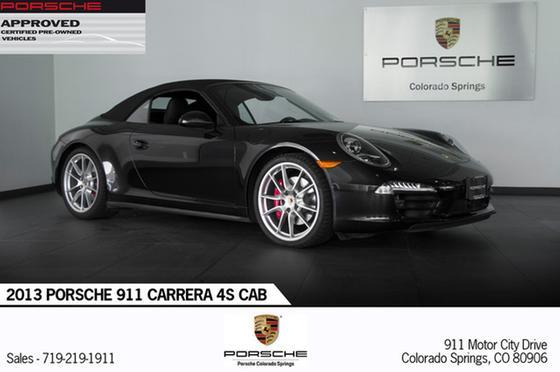 2013 Porsche 911 Carrera 4S Cabriolet:24 car images available