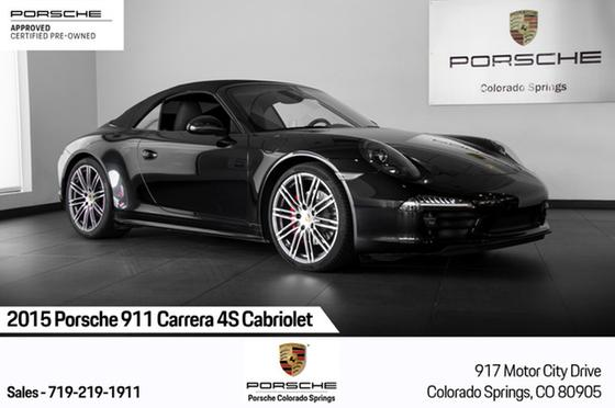 2015 Porsche 911 Carrera 4S Cabriolet:24 car images available