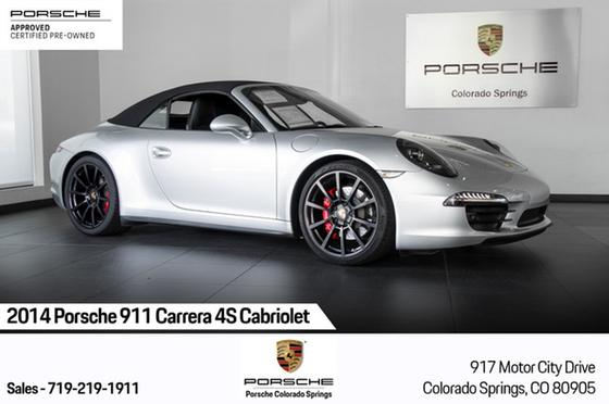2014 Porsche 911 Carrera 4S Cabriolet:24 car images available