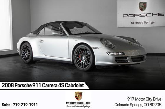 2008 Porsche 911 Carrera 4S Cabriolet:23 car images available