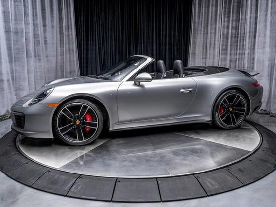 2018 Porsche 911 Carrera 4S Cabriolet:24 car images available