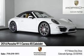 2016 Porsche 911 Carrera 4S Cabriolet:24 car images available