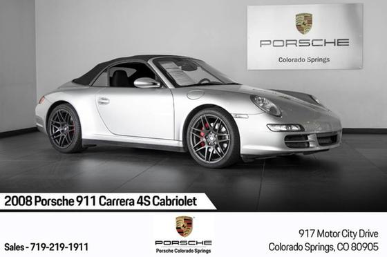 2008 Porsche 911 Carrera 4S Cabriolet:24 car images available