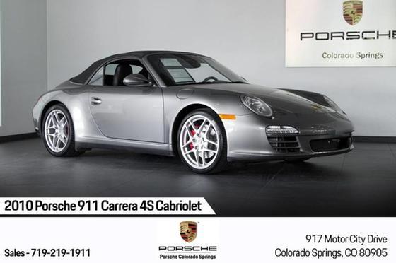 2010 Porsche 911 Carrera 4S Cabriolet:24 car images available