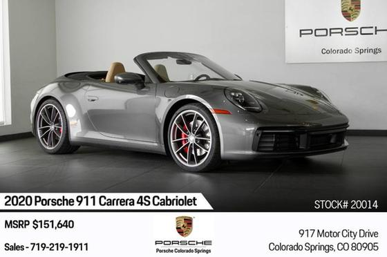 2020 Porsche 911 Carrera 4S Cabriolet:24 car images available