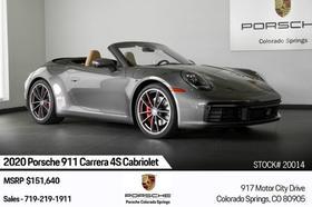 2020 Porsche 911 Carrera 4S Cabriolet:24 car images available