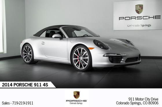 2014 Porsche 911 Carrera 4S:21 car images available