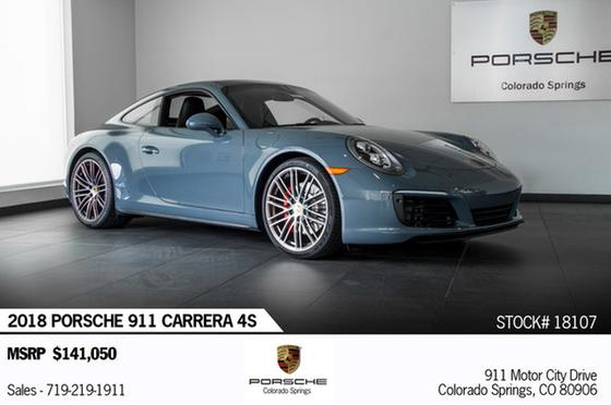 2018 Porsche 911 Carrera 4S:24 car images available