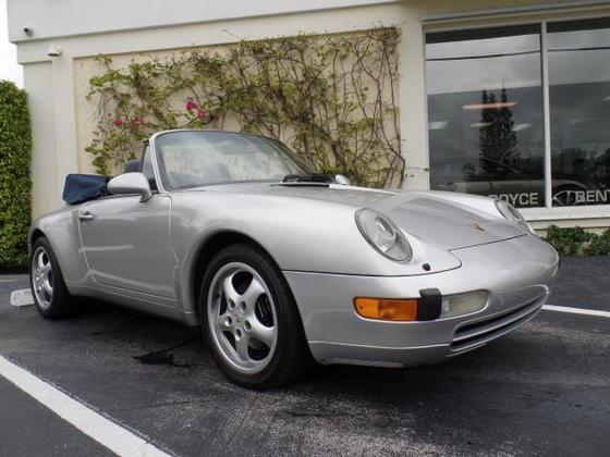 1997 Porsche 911 Carrera Cabriolet:12 car images available