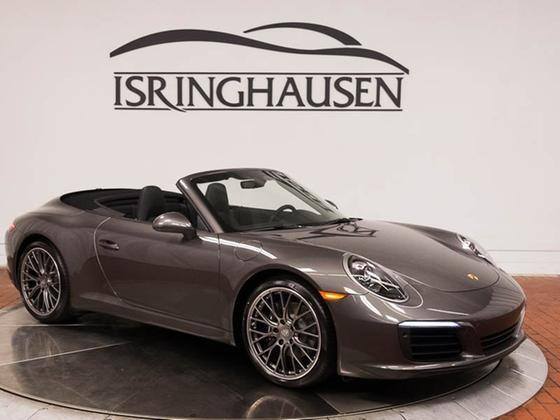2018 Porsche 911 Carrera Cabriolet:24 car images available