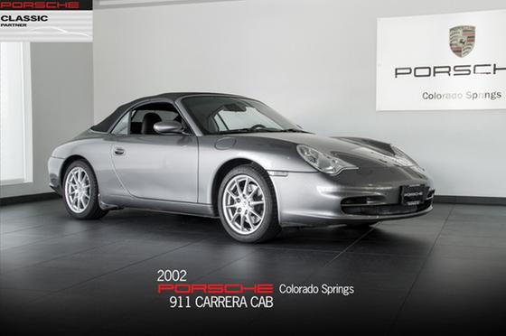 2002 Porsche 911 Carrera Cabriolet:22 car images available