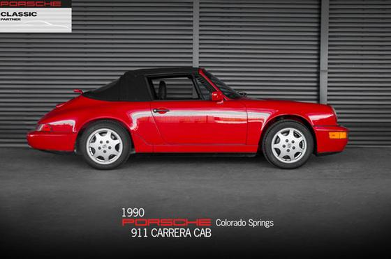 1990 Porsche 911 Carrera Cabriolet:24 car images available