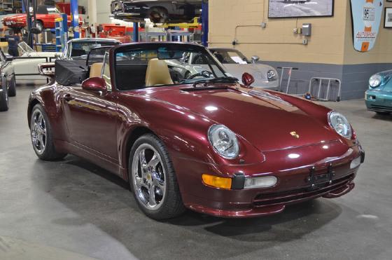 1997 Porsche 911 Carrera Cabriolet:21 car images available
