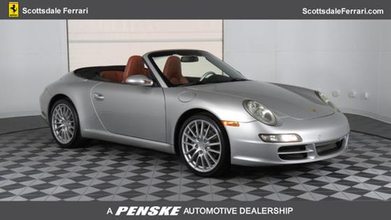 2007 Porsche 911 Carrera Cabriolet:24 car images available
