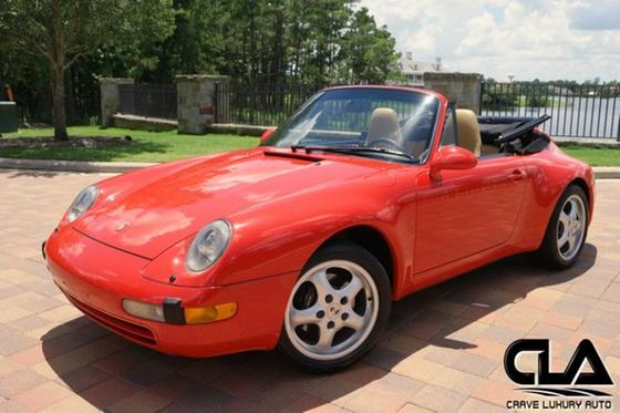 1997 Porsche 911 Carrera Cabriolet:24 car images available
