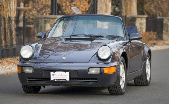 1992 Porsche 911 Carrera Cabriolet:15 car images available