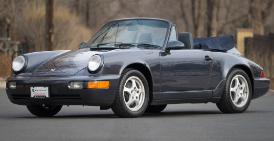 1988 Porsche 911 Carrera 2 Cabriolet For Sale In Englewood
