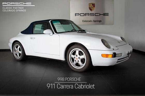 1998 Porsche 911 Carrera Cabriolet:21 car images available