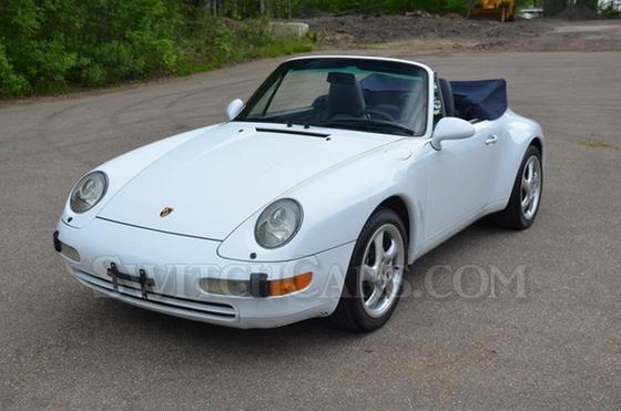 1997 Porsche 911 Carrera Cabriolet:24 car images available