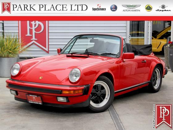 1987 Porsche 911 Carrera Cabriolet:24 car images available