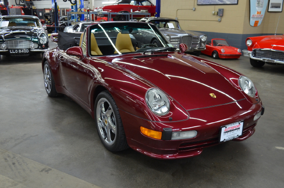 1997 Porsche 911 Carrera Cabriolet:9 car images available