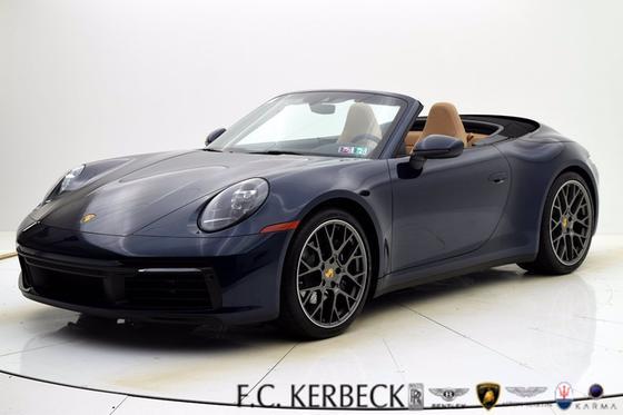 2020 Porsche 911 Carrera Cabriolet:24 car images available