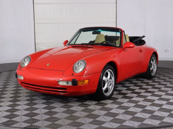 1998 Porsche 911 Carrera Cabriolet