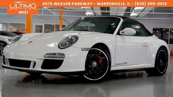 2011 Porsche 911 Carrera GTS Cabriolet:24 car images available
