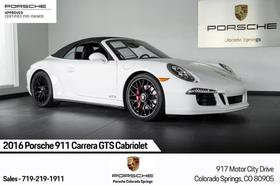 2016 Porsche 911 Carrera GTS Cabriolet:24 car images available