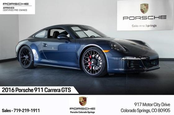 2016 Porsche 911 Carrera GTS:24 car images available