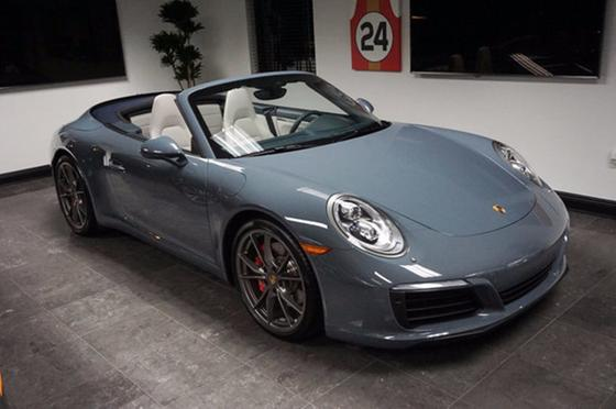2017 Porsche 911 Carrera S Cabriolet:16 car images available