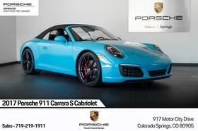 2017 Porsche 911 Carrera S Cabriolet:24 car images available