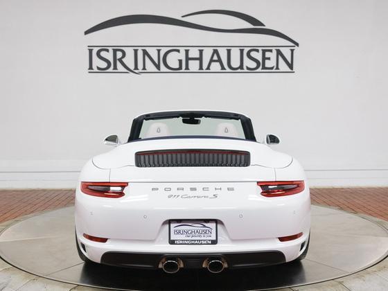 2019 Porsche 911 Carrera S Cabriolet