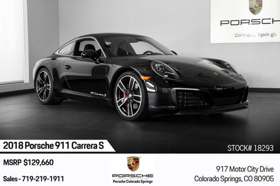 2018 Porsche 911 Carrera S:24 car images available