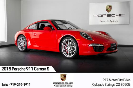 2015 Porsche 911 Carrera S:24 car images available