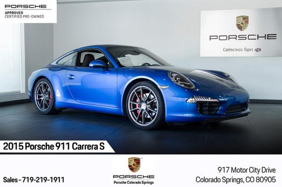 2015 Porsche 911 Carrera S:23 car images available