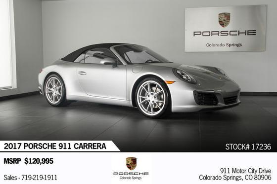 2017 Porsche 911 Carrera:23 car images available